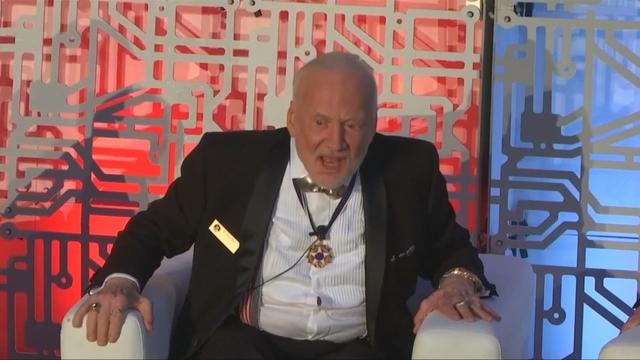 "Aldrin decries ""50 years of non-progress"" in space"