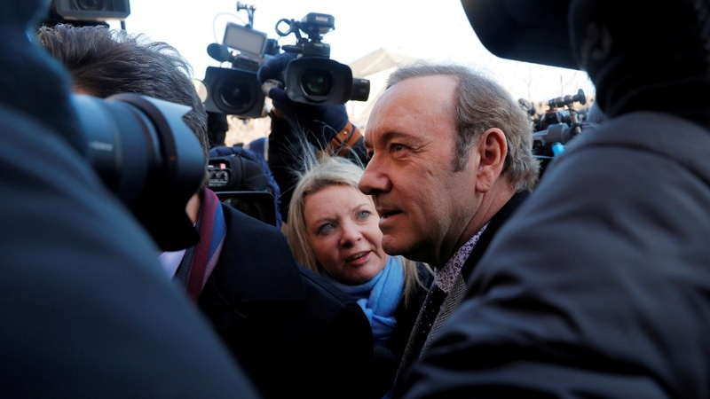 Prosecutors drop Kevin Spacey sex assault case