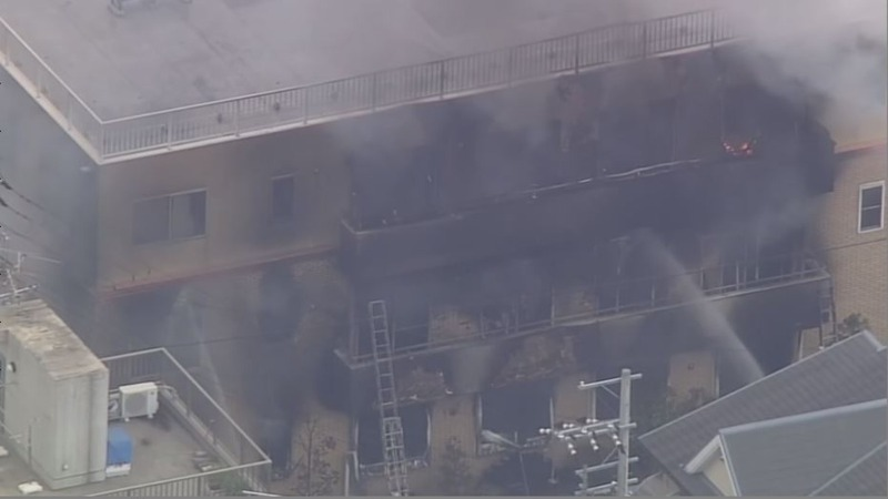 At least 23 feared dead in Japanese studio fire