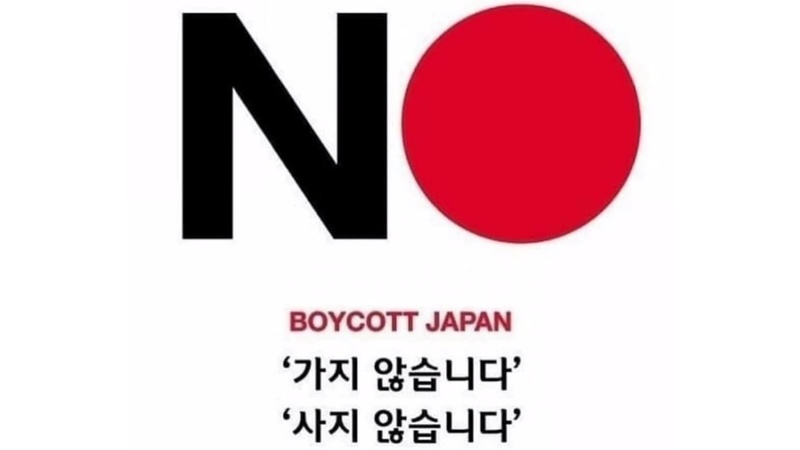 South Koreans are boycotting anything Japanese
