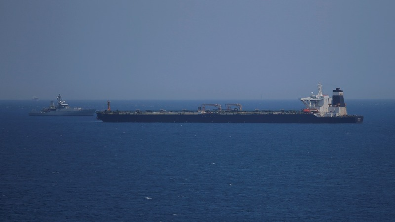 Iran claims it seized British tanker in Gulf