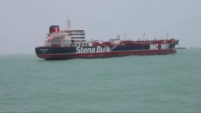 "Iran posts video of tanker seizure, UK calls it ""hostile act"""