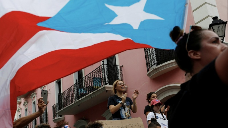 'We are outraged' protests roil Puerto Rico