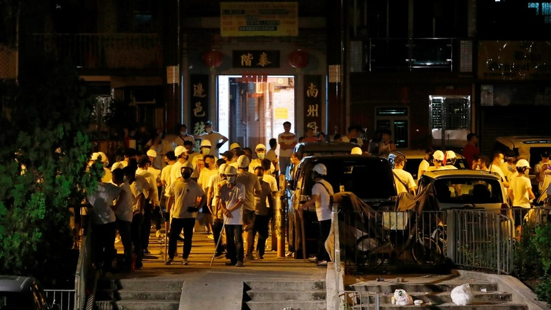'Triad gangsters' blamed for attacks in Hong Kong