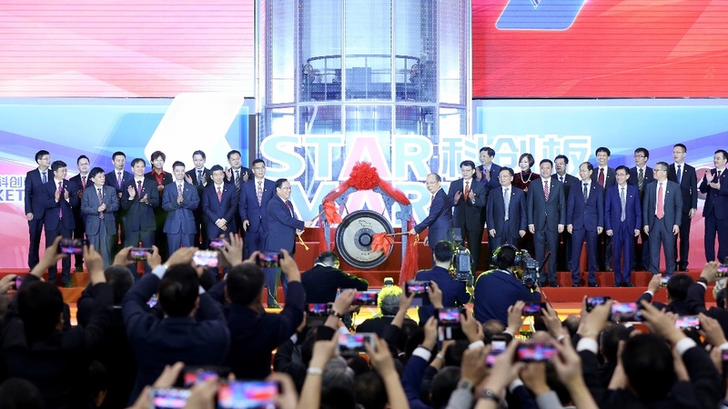 A stellar debut: shares rocket on China's STAR Market