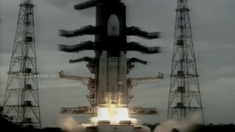 India's moon mission lifts off after delay