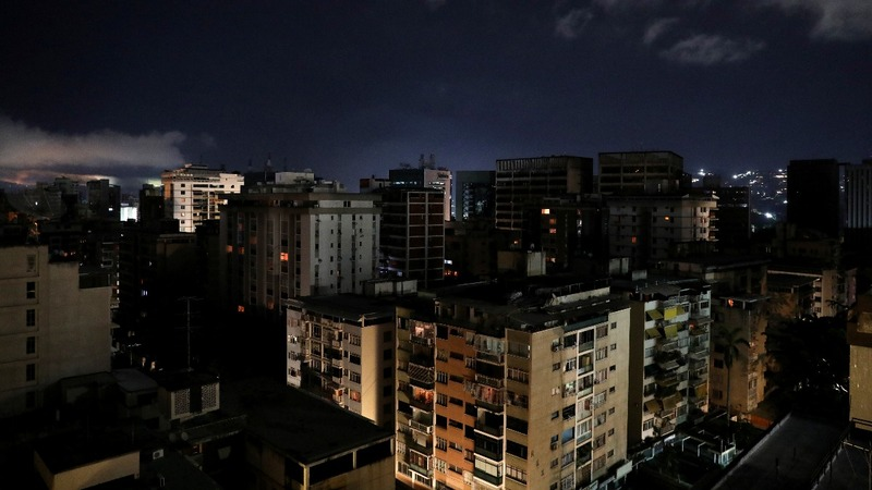 Some Venezuelan states still dark after blackout