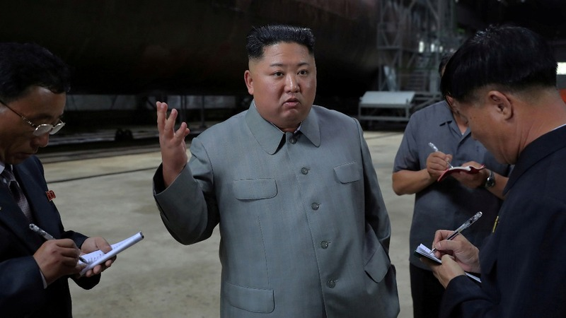 Kim: missile tests a warning to South Korea