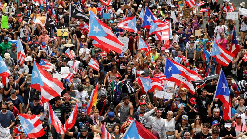 Puerto Ricans vow to continue protests