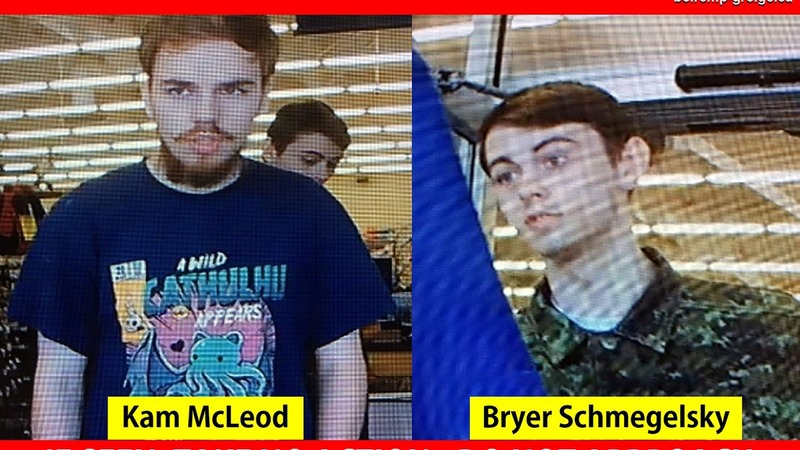 Canadian teenage murder suspects still at large