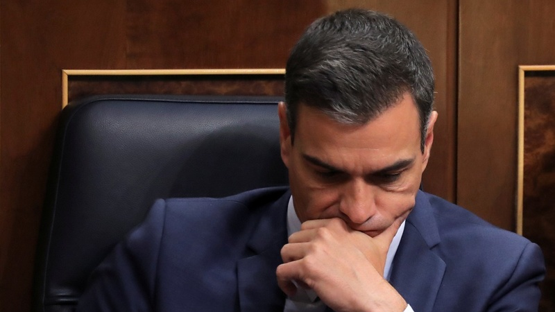 Spain's Sanchez clamors for solution after PM loss