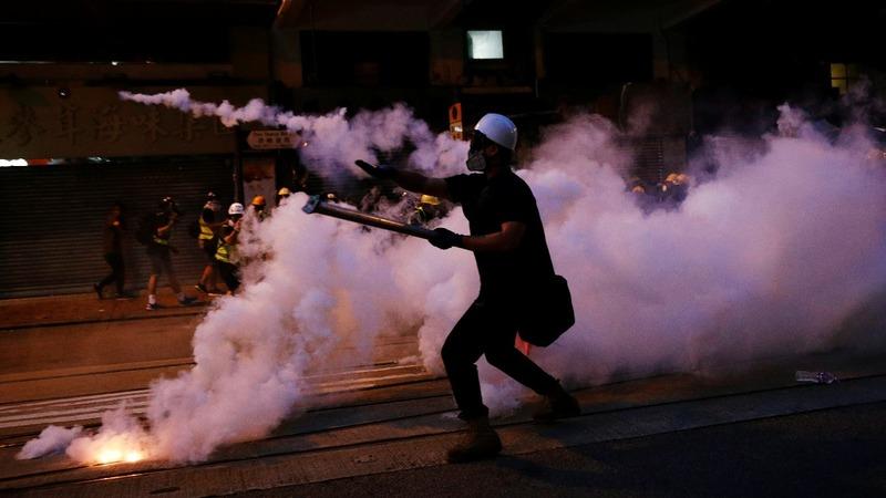 Hong Kong steps up security amid more protests