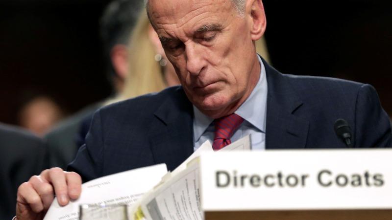 U.S. intelligence chief will resign: Trump