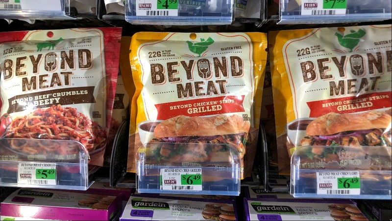 Beyond Meat stuns with stock sale plan