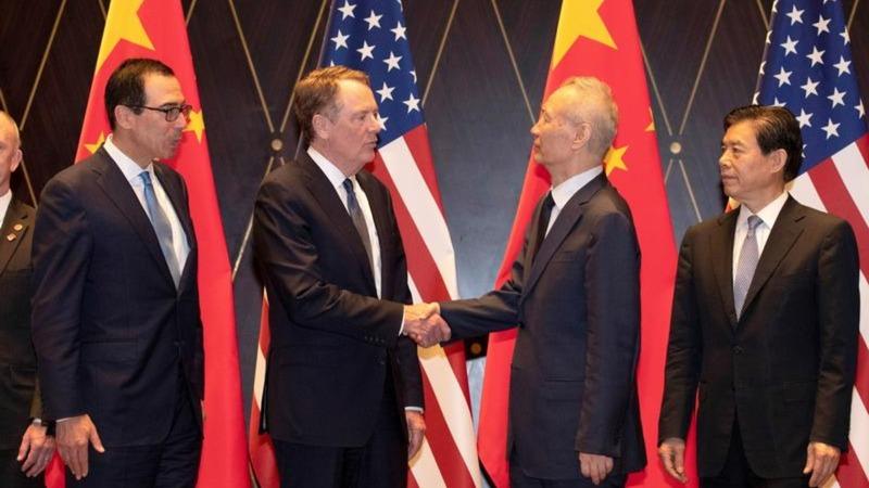 U.S.-China trade talks end early, little progress