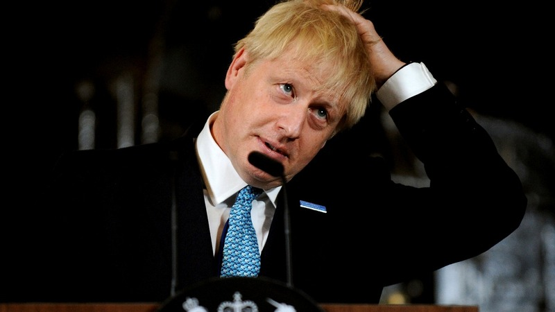 Johnson talks Brexit and backstops in N.Ireland