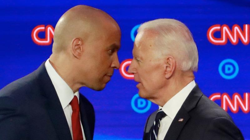 Biden faces fierce attacks in Democratic debate