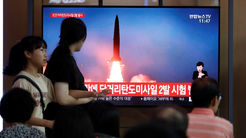 North Korea launches third round of missiles