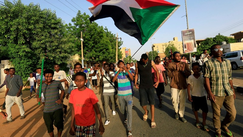 Protest-hit Sudan celebrates a breakthrough pact