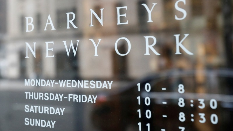 Luxury retailer Barneys files for bankruptcy protection