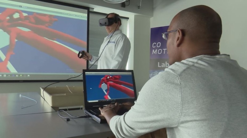 VR puts doctors inside patients' blood vessels