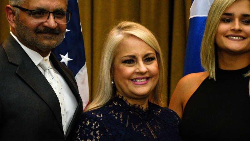 New Puerto Rico governor sworn in; 3rd in a week