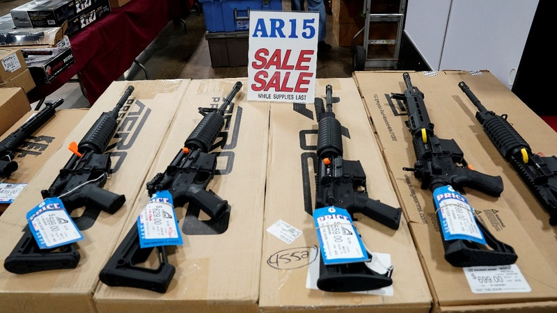 Trump predicts action on gun background checks