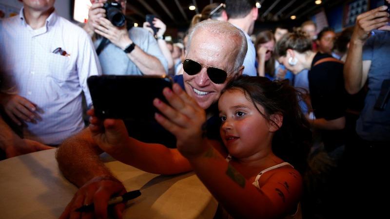 Iowa fair holds risks for 2020 frontrunner Biden