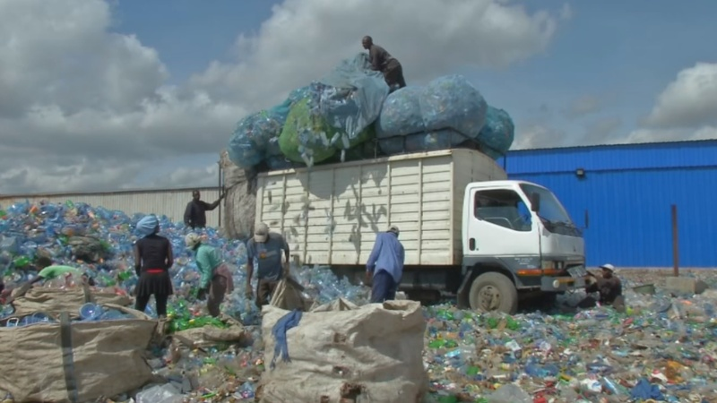 Plastic everywhere - but not for African recyclers