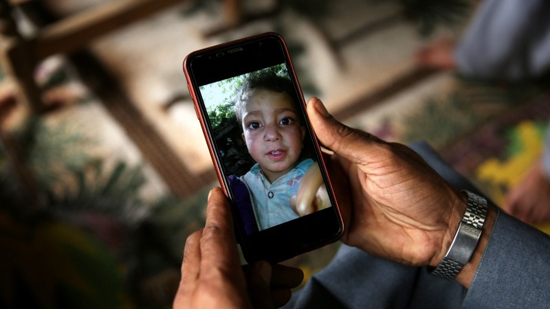 In Kashmir, a child mistakes a bomb for a toy