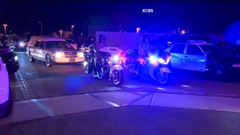 One officer, suspect dead in California shootout