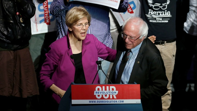 Will Warren, Sanders split the progressive vote?
