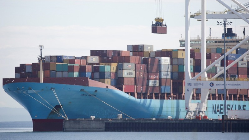 Maersk warns trade war could hurt shipping