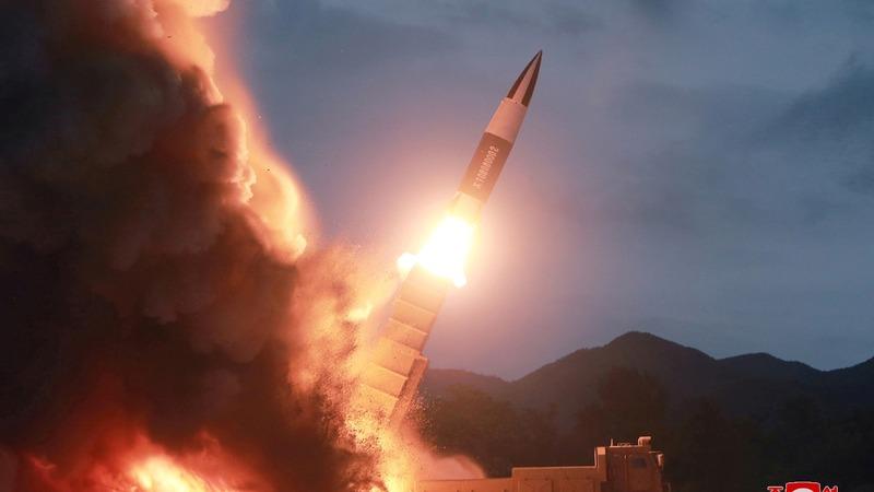 Defiant North Korea fires off two projectiles