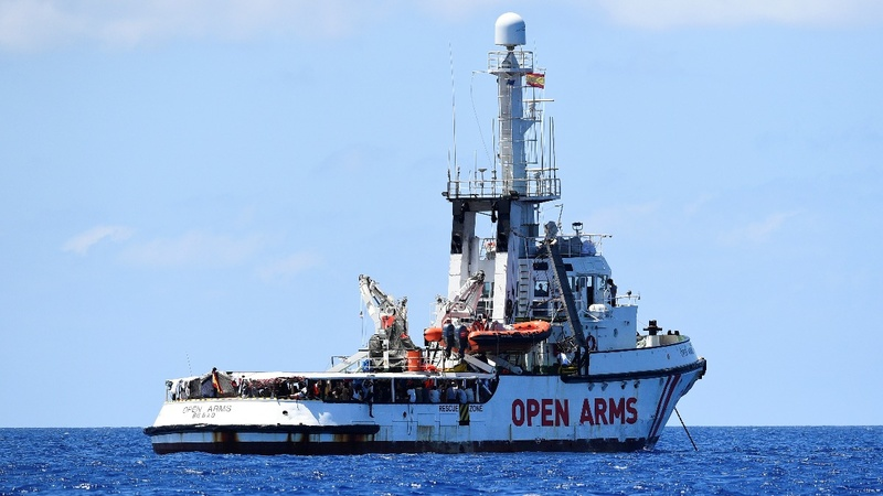 Rescue vessel still blocked from Italy's shores