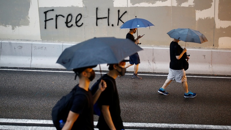 Hong Kong protests march on with massive turnout
