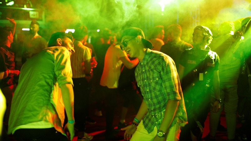 Bikers dance as parties return to battle-weary Baghdad