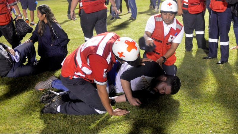Three dead after a soccer riot in Honduras