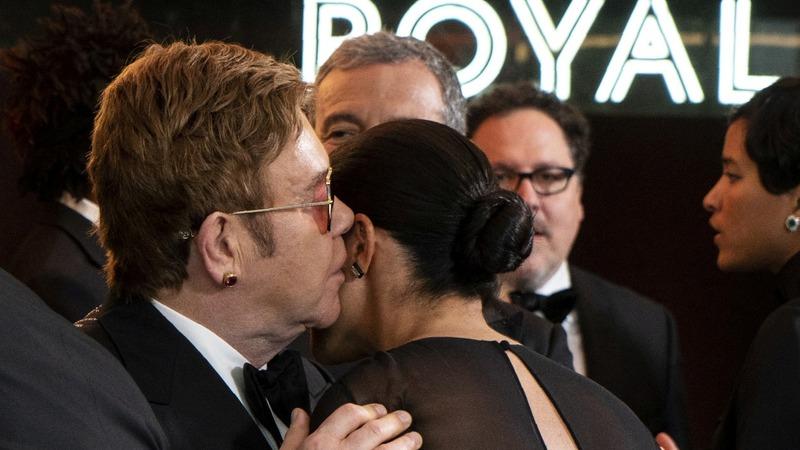 Elton John blasts press criticism of Harry and Meghan