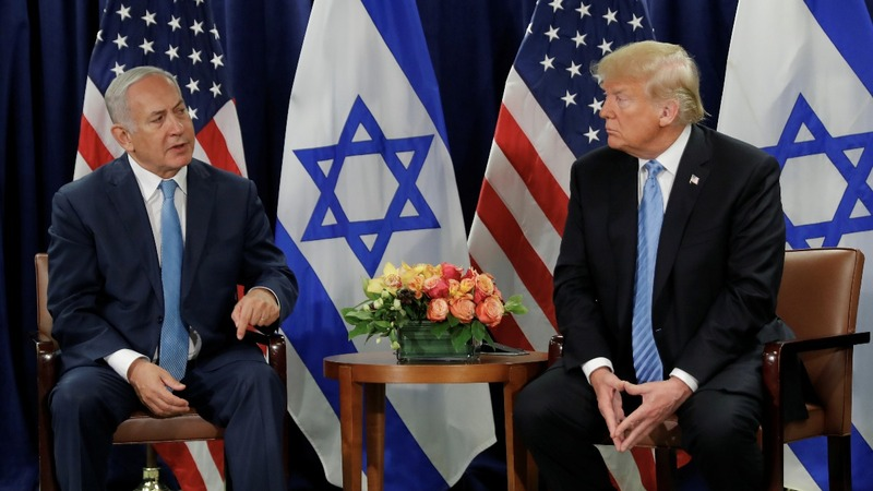 Israel holds back on Trump's 'disloyalty' remark