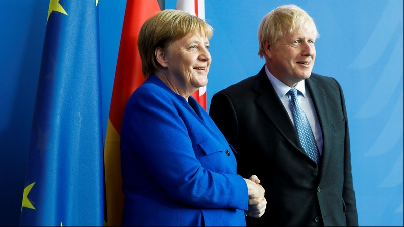 Budge on Brexit, British PM Johnson tells Merkel