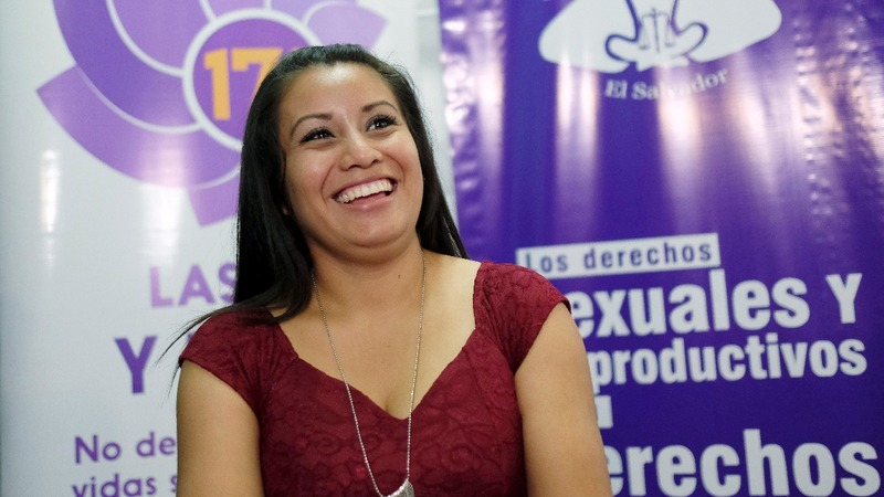 Evelyn Hernandez calls for legalised abortion