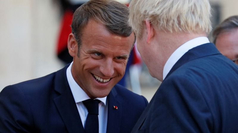 Macron: time's too short for a new Brexit deal