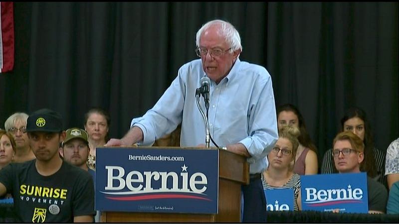 Sanders reveals $16.3 trillion 'Green New Deal'