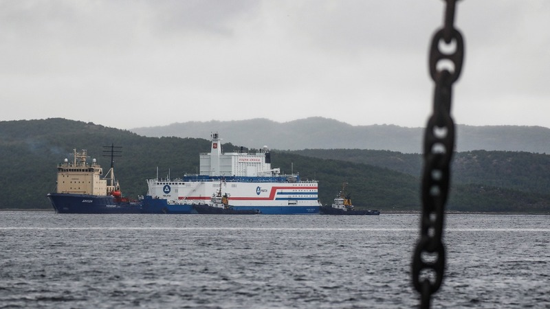 Russia's first floating nuclear power plant