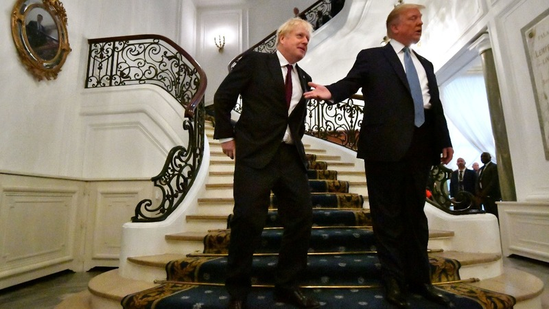 Trump to Britain: we'll have a big trade deal