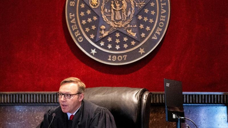Oklahoma judge to rule on J&J opioid case
