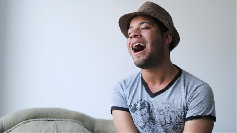 A Venezuelan migrant gets a shot at stardom