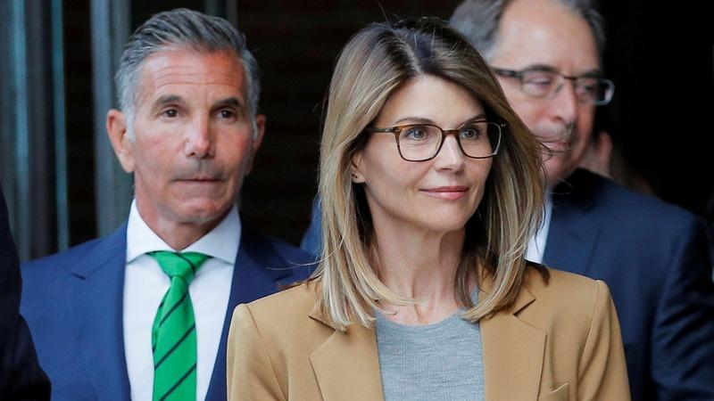 Loughlin, husband appear in Boston court