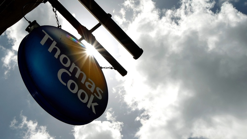 Thomas Cook shares sink on rescue deal